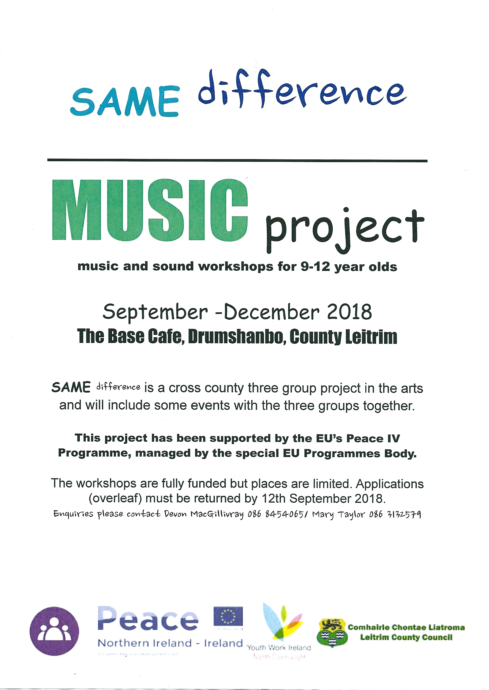Leitrim Youth Project Ncycs